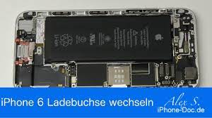 IPhone 6 Ladebuchse USB Lightning Mikro wechseln reparieren Anleitung  deutsch - YouTube