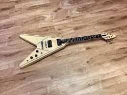 Gibson Designer Series Gibson Designer Series Flying V 1984 White Faded To Cream W Pinstripes Killer Sounding Vintage V