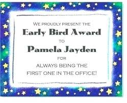Funny Awards At Work I Should Have Added An Award For Passive Aggressive Note It