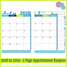 write in calendar 2018 free 2018 2019 year round homeschool planning form sunset color
