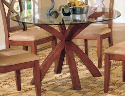 glass top dining tables with wood base the luxurious dining table glass top best dining table
