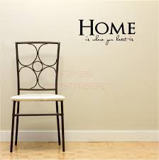 home is where your heart is house decor inspirational vinyl wall decal quotes sayings art lettering on home wall art quotes with home is where your heart is house decor inspirational vinyl wall