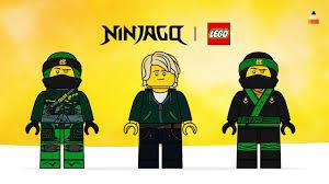 Drawing Lego Ninja Lloyd | High School Outfit | Season 9 | Ninjago Movie