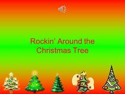 Rockin Around The Christmas Tree Sheet Music  Christmas Lights Rock In Around The Christmas Tree