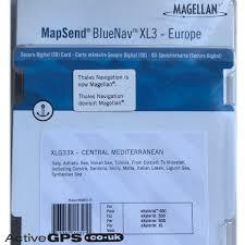 Mapsend Bluenav Charts Magellan Bluenav Xlg33x Central Mediterranean Sd Card