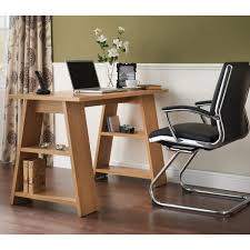 oak desks for home office.  for a line home office desk in oak finish throughout desks for e