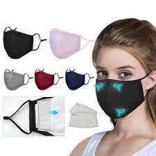 Anti Pollution PM2.5 Mouth Mask Dust Respirator Washable ... - Vova