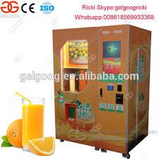Fresh Squeezed Orange Juice Vending Machine Interesting Orange Juicer Vending Machine Fresh Squeezed Orange Juice Vending
