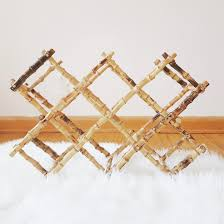 bamboo wine rack. Contemporary Bamboo Bamboo Wine Rack Intended A