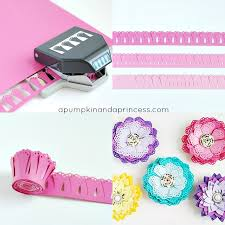 Paper Punches Flower Diy Paper Flowers Without A Die Cutting Machine A Pumpkin And A