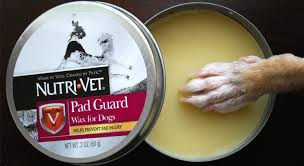review nutri vet pad guard paw wax for dogs