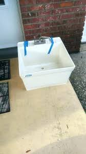 mustee laundry tubs wall mount laundry tub hanging sink basin faucet hung mustee utility sink specs mustee laundry