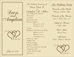 Free Microsoft Word Wedding Program Template 002 Template Ideas Trifold Wedding Program Templates