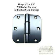 french door hardware hinge x radius corner doors brushed satin chrome patio installation instructions pella hinged instruction
