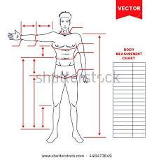 body measurement chart for men pin on fitness motivation