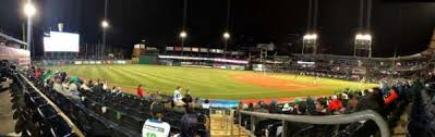 Dunkin Donuts Park Section 118 Home Of Hartford Yard Goats