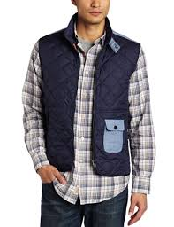 jeans jacket for men Online: Faconnable Jeans Men's Outdoor ... & Faconnable Jeans Men's Outdoor Quilted Vest Jacket Review Adamdwight.com