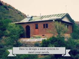 Take Charge Of Your Power Needs Part  Solar Energy As An - Home solar power system design