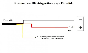 lowrance help topics networking diagrams wiring diagrams this option the yellow wake up wire from each hds unit is connected to the yellow wake up wire of the module powering up any hds unit will turn on
