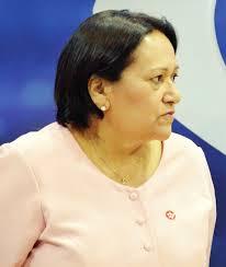 Resultado de imagem para senadora fatima bezerra pensativa