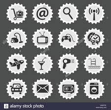 A Hotel Simply Hotel Simply Symbol For Web Icons And User Interface Stock Vector