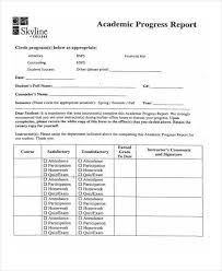 love helps student progress report forms d college graduate 7 academic report templates word pdf format