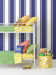 ticking stripes in a kid s bedroom