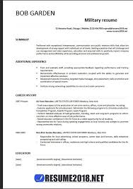 Example Military Resume Custom Military Resume Examples 28 Resume 28