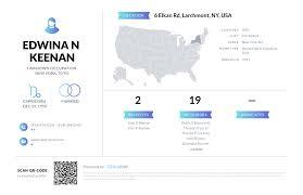 Edwina N Keenan, (914) 834-5336, 6 Elkan Rd, Larchmont, NY   Nuwber
