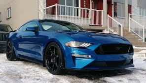Is winter almost over? 2018 Mustang ready for spring! : Mustang