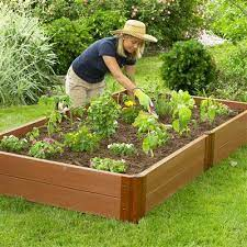 classic sienna raised garden bed 4 x 8