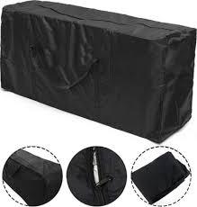 2 pieces of patio cushion storage bag