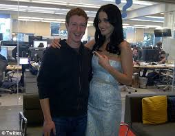 facebook office palo alto. Facebook Friends: Katy Perry Poses With Founder Mark Zuckerberg At The  Offices Today In Facebook Office Palo Alto