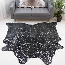 Small cow hide rugs White Small Silver Metallic Brazilian Cow Hide Rug 237 293 Sq Ft Etsy Shop For Small Silver Metallic Brazilian Cow Hide Rug 237 293 Sq