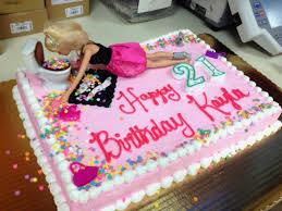 Fab Nd Bday Cake Ideas New Drunk Barbie Birthday Cake Drunk Barbie