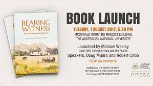book launch bearing witness essays in honour of brij v lal anu join the dean of anu college of asia and the pacific professor michael wesley and contributing authors for the launch of bearing witness essays in honour