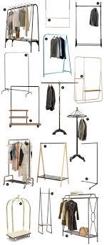 Niles Double Coat Rack 100 Stylish Garment and Coat Racks Making it Lovely 60