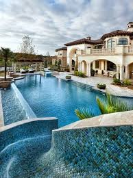 beautiful pools with slides. Delighful Beautiful This Beautiful Pool Slide Is Made From A Lovely Tile Mosaic Smoothed And  With Water Pouring Down The So That It Smooth Ride Around Bend  Throughout Beautiful Pools With Slides G