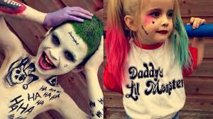 kids version squad joker harley quinn makeup makeup tutorial