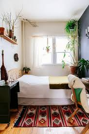 narrow bedroom furniture. If It\u0027s Small, Bring The Outside In. Abundance Of Greenery Makes This Tiny Bedroom Come To Life. Oh, And That Gorgeous Mexican Rug Definitely Helps Too. Narrow Furniture K
