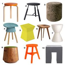 modern stools  design milk