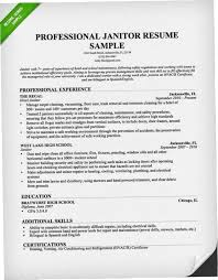 Custodian Resume New Custodian Resume 28OZX Professional Janitor Resume Sample Genius