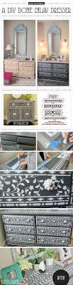 cutting edge furniture. Cutting Edge Stencils Shares A DIY Stenciled Dresser Using The Indian Inlay Stencil Kit. Http Furniture