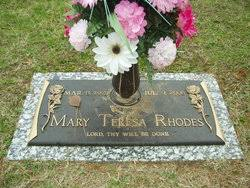 Mary Teresa Rhodes (1921-2006) - Find A Grave Memorial