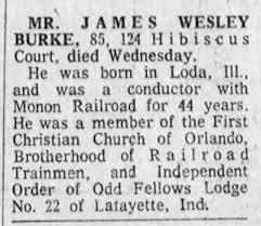 Burke, James W- Obituary (1969) - Newspapers.com