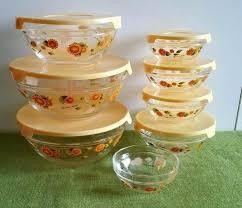 glass storage bowls norpro 10 piece nesting glass mixing storage bowls with lids michael andrew glass storage bowls set of 5