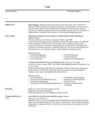 Resume Writing For Highschool Students Beauteous Resume Writing Examples For Students Colbroco