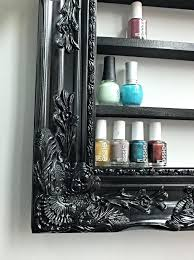 nail polish rack diy picture frame polish rack nail polish organizer diy