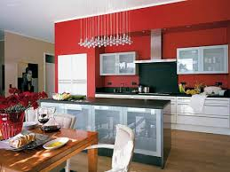 kitchen color ideas red. Red And White Kitchens Kitchen Wall Paint Color Ideas Walls With Cabinets A