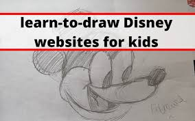 how to draw cute disney characters step